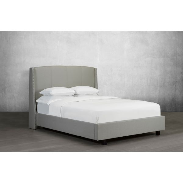 R-197 Canadian Made Diamond Stitch Upholstered Bed