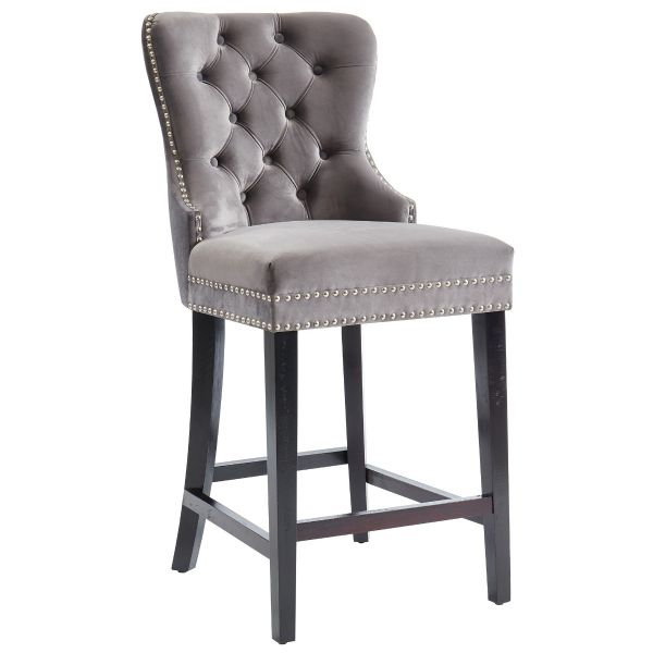 Rizzo 26'' Counter Stool in Grey