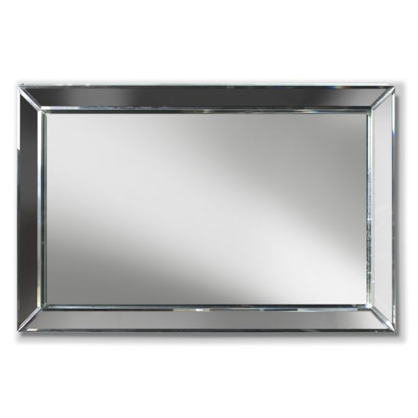 Bevelled 3D Rectangle Mirror
