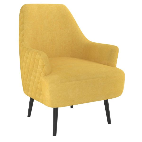 Nomi Accent Chair in Mustard