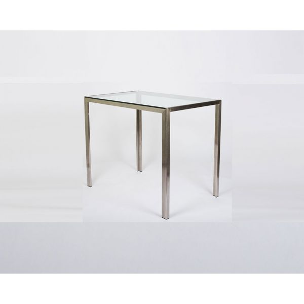 Chad Counter Table with Glass Top