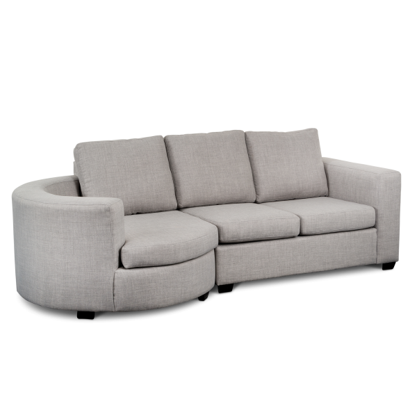 Rounded Sofa Made in Canada