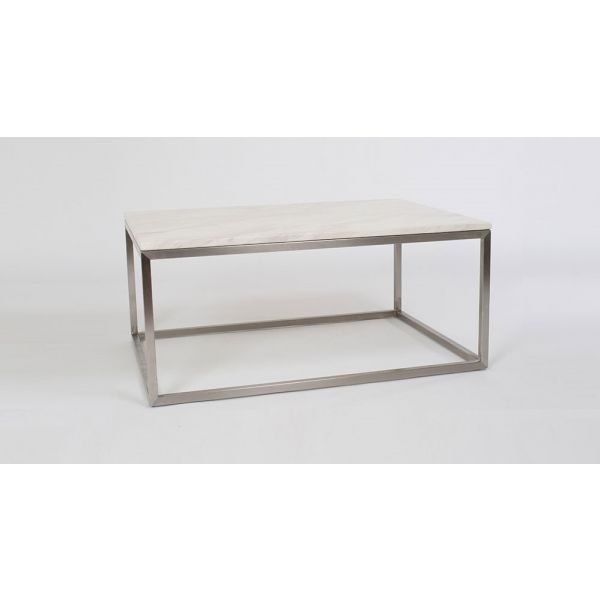 Milan Coffee Table with Marble Top