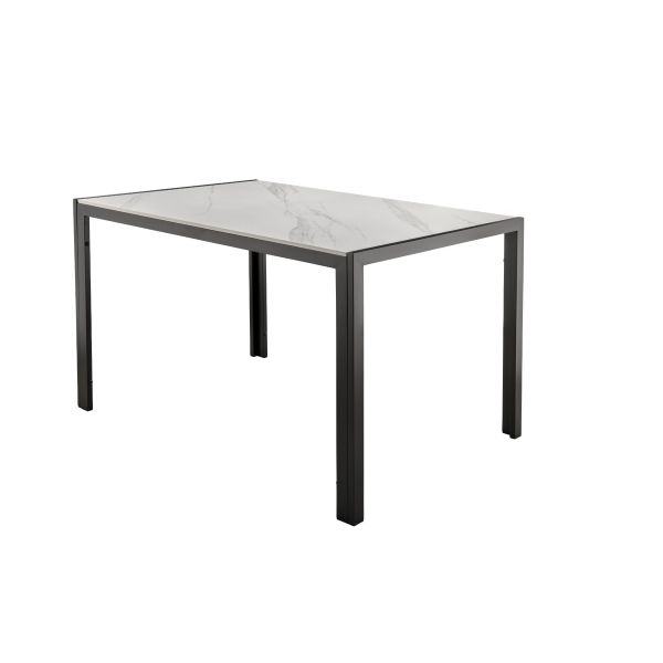Chad Dining Table with Marble Top