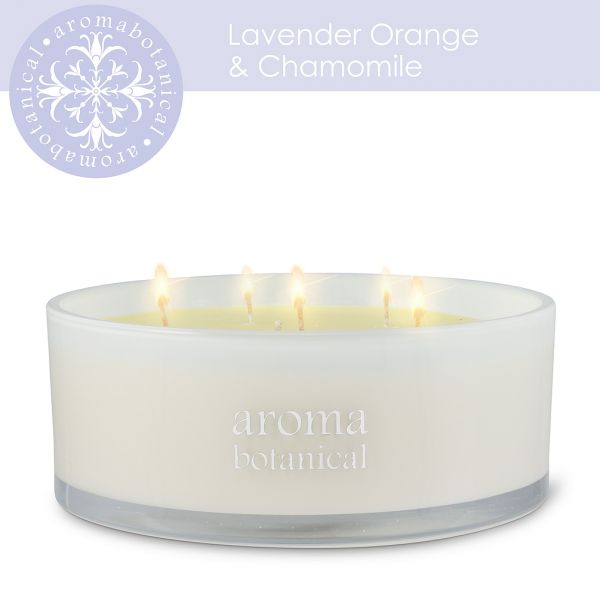 6 Wick Lavender, Orange & Chamomile Candle