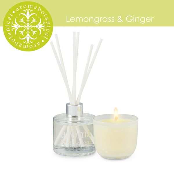 2 Piece Lemongrass & Ginger Gift Set