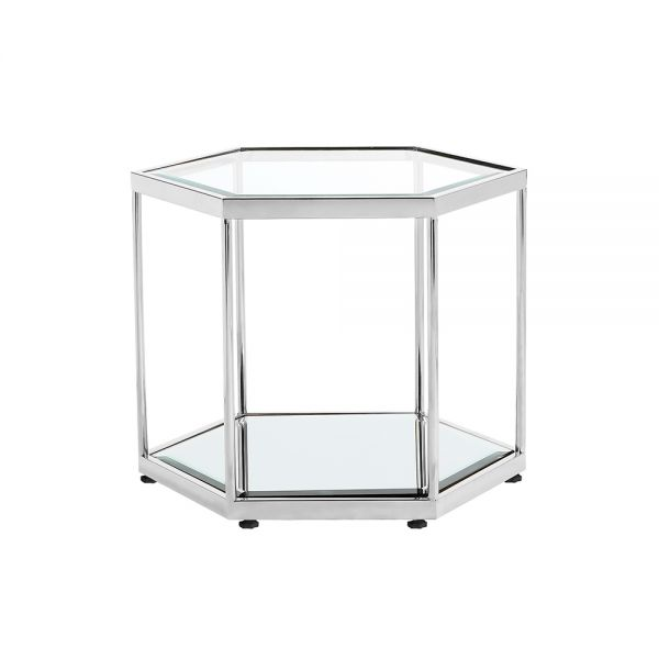 Swainson Silver End Table