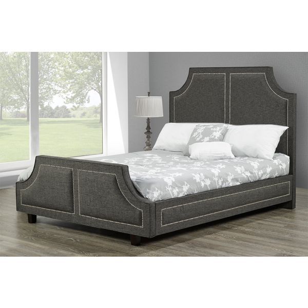 R185-Headboard and Bed