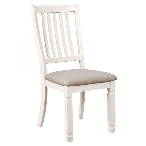 HIGHLANDS-SIDE CHAIR-ANTIQUE WHITE