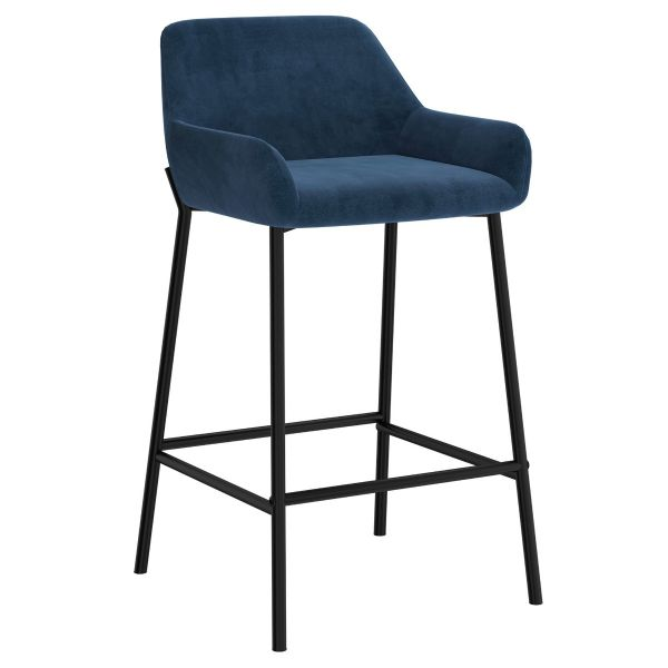 Baily 26'' Counter Stool in Blue