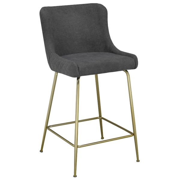 Giselle 26'' Counter Stool in Grey