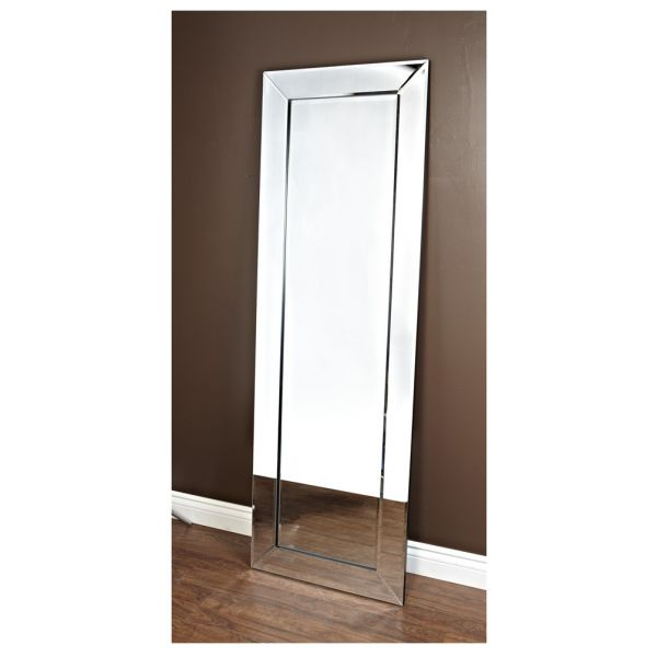 Tall Rectangular Border Mirror