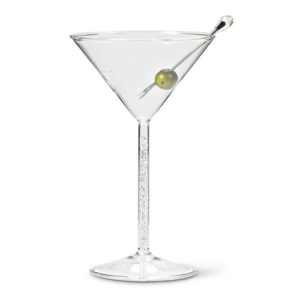 Martini with Gem Stem