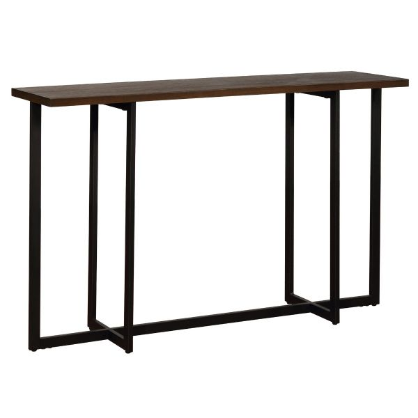 Faro Console Table in Walnut