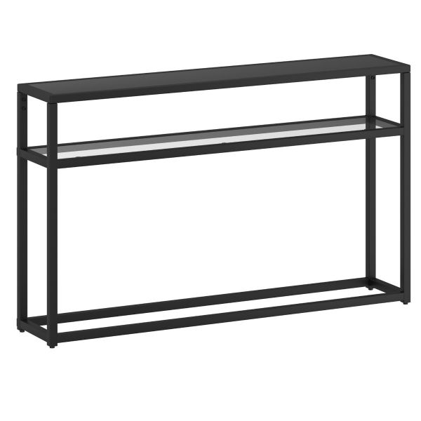 Quinn Console Table in Black