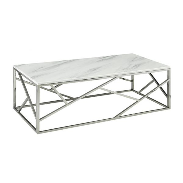 Carole Coffee Marble Top Table