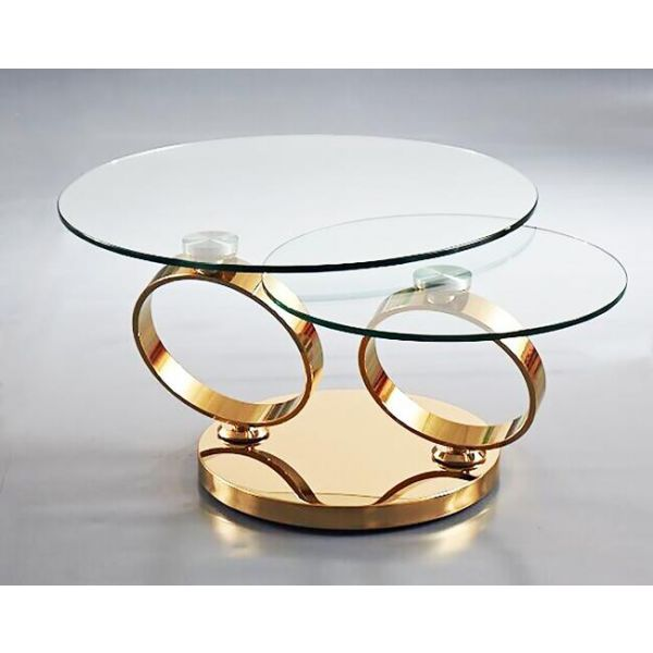 Ring Coffee Table Gold