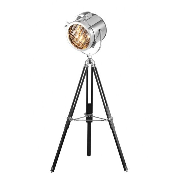 Spot Light Floor Lamp With Adjustable Legs