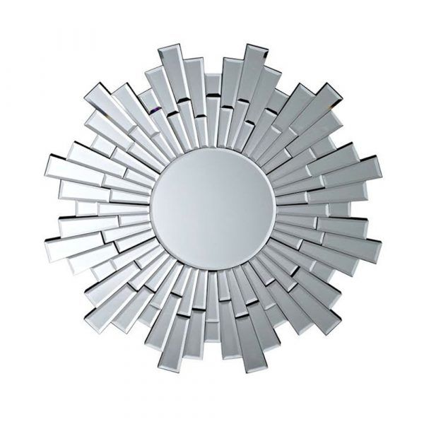 Sun Burst Wall Mirror