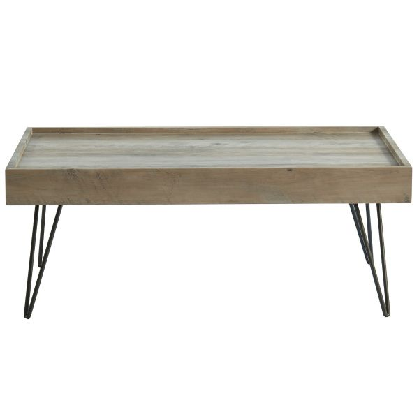 Vista Coffee Table in Antique Grey
