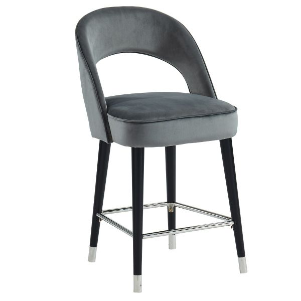 Vogue 26'' Counter Stool in Grey