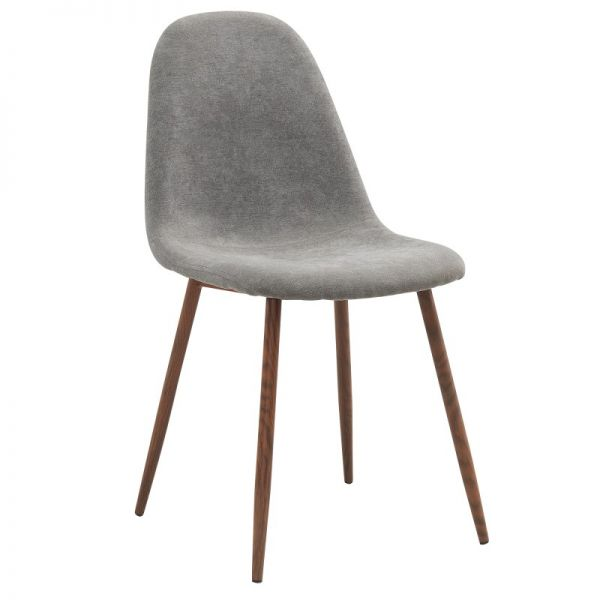 Lyna Side Chair in Grey